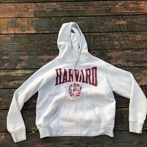 Women's H&M Harvard University Hoodie Sz Med EUC